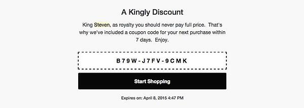 ecommerce email ideas
