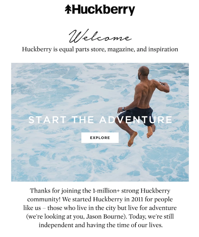 Welcome-Email-Huckberry